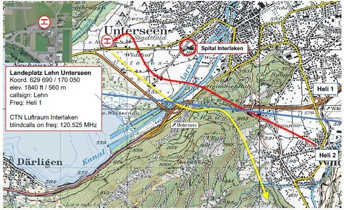 Lehn-An-Abflug